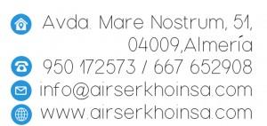 Dirección y contacto de Khoinsa Airser, Aire Acondicionado, Climatización y frío industrial en Almería